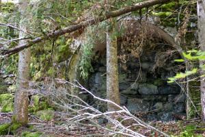 Ruinen Italiener-Dörfli auf dem Werkplatz Unterwäldli