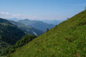 Blick aus dem Tal in Richtung Schuders