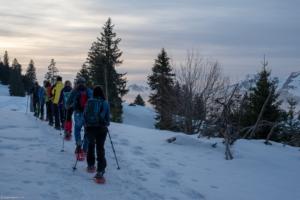 Beispielbild Schneeschuhtour
