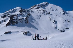 Mittagsrast bei Leg Nair auf 2463m