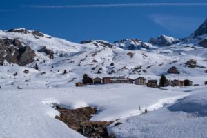 Cuorts auf der Alp Flix