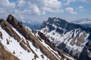 Mattstock mit Alpstein im Hintergrund