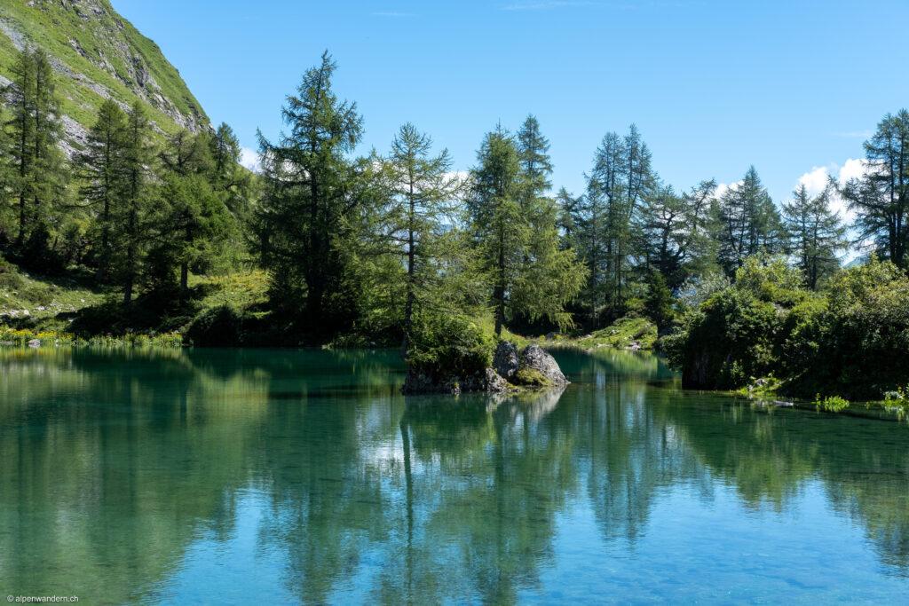 Vorderst See bei Fläscher Alp Sarina