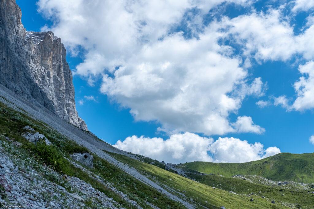 Prättigauer Höhenweg - Drusenfluh