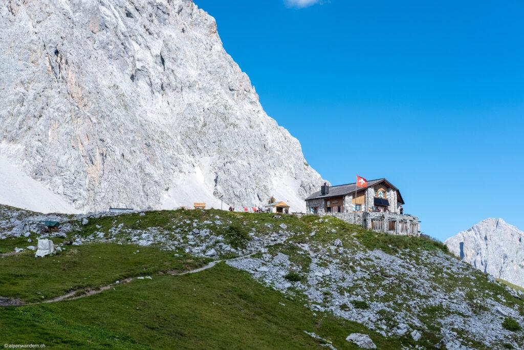 Carschina SAC Hütte