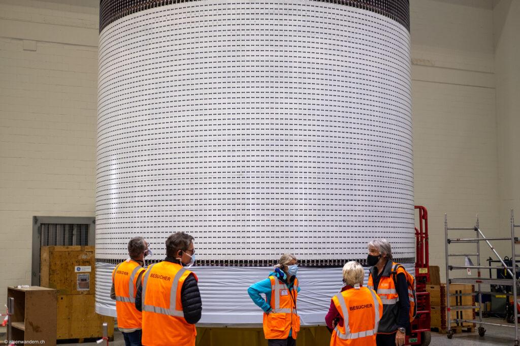 Rotor Pumpspeicherwerk Kraftwerke Linth-Limmern