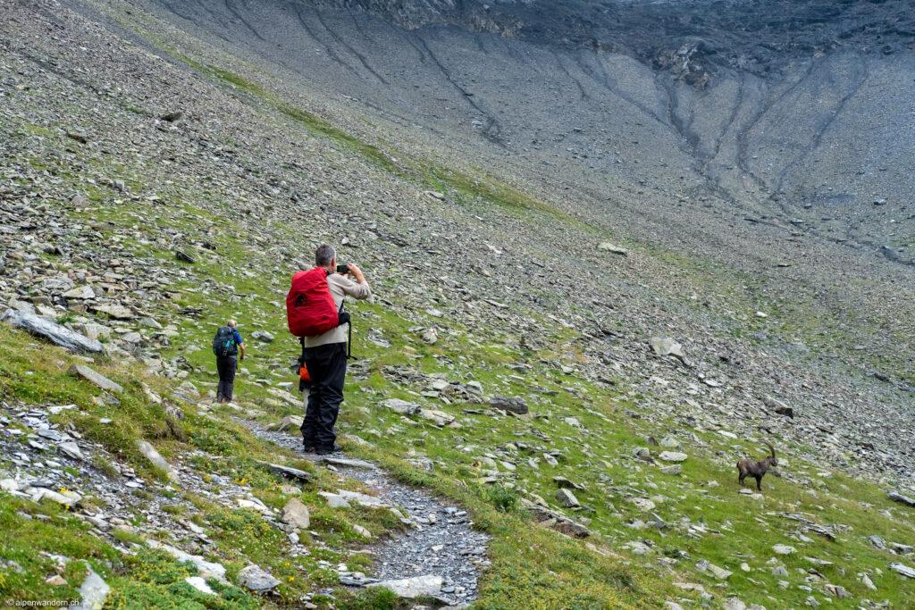 Nüschentäli beim Aufstieg zur Muttseehütte SAC
