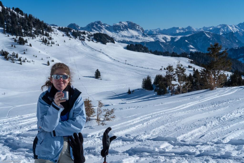 SAC Bachtel - Schneeschuhtour Erdisgulmen