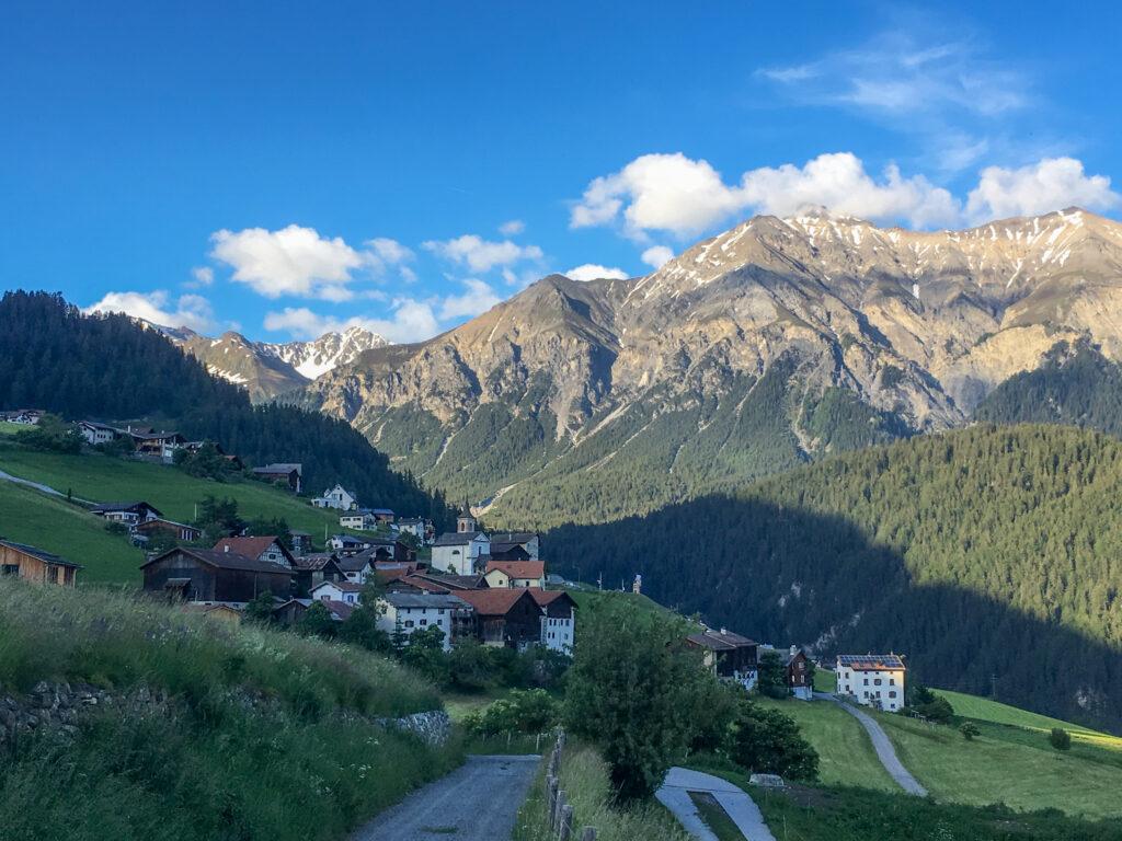 Zwei Tages - E-Bike - Tour Bad Ragaz-Kunkelspass-Thusis-Lenzerheide-Chur-Bad Ragaz