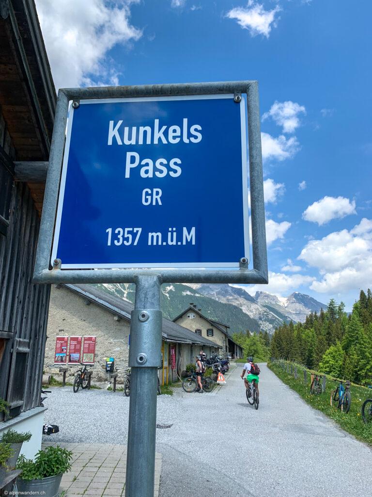 Passhöhe Kunkelspass