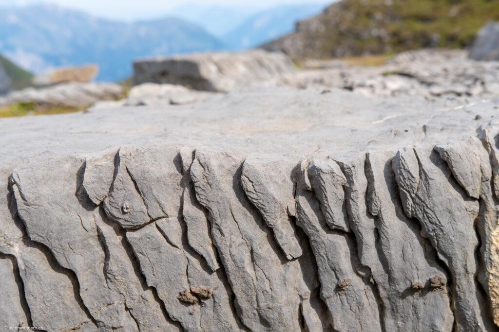 Schrattenkalk unterhalb der Eigernordwand